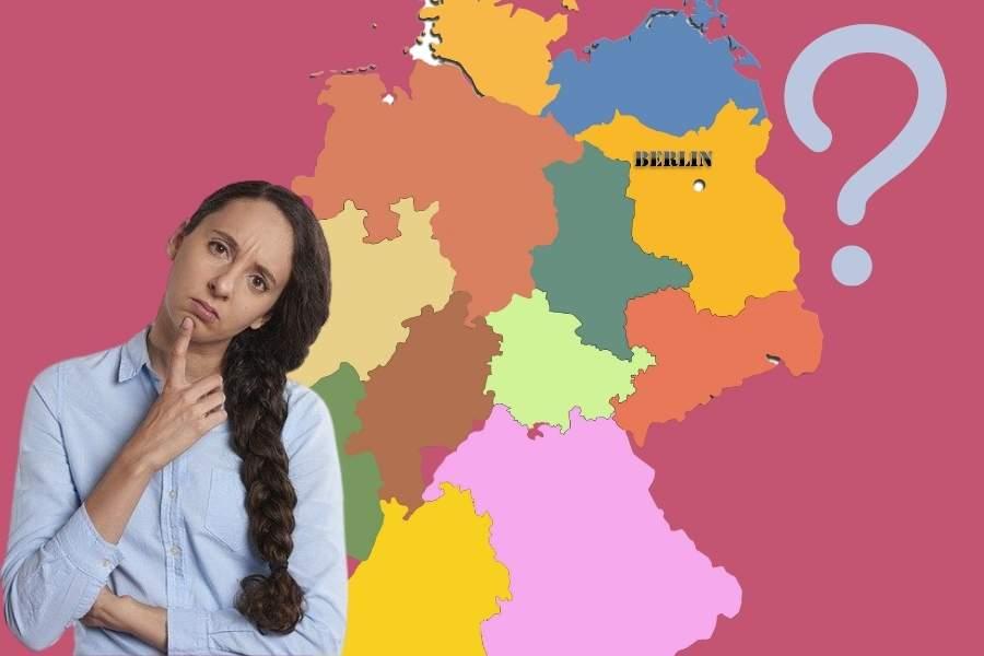 Deutschland Karte Frage Verwirrung